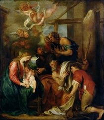 Adoration of the Shepherds  by Sir Anthony van Dyck