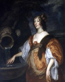 Portrait of Lucy Percy von Sir Anthony van Dyck