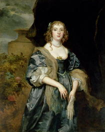Anne Carr, Countess of Bedford von Sir Anthony van Dyck