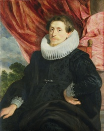 Portrait of a Man von Sir Anthony van Dyck
