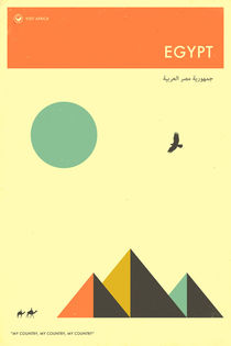 VISIT EGYPT von Jazzberry  Blue