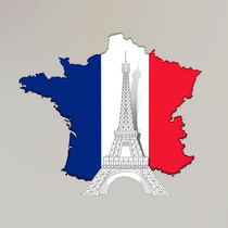 Pray For Paris 1 von Bedros Awak
