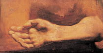 Study of a Hand and Arm  by Theodore Gericault