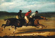 The Horse Race  by Theodore Gericault