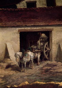 The Kiln at the Plaster Works  von Theodore Gericault