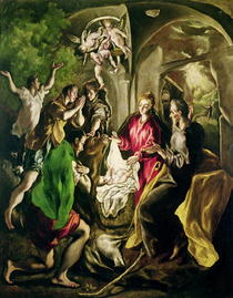 Adoration of the Shepherds von El Greco
