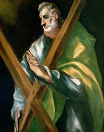 St. Andrew  von El Greco