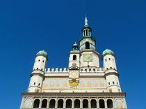 Rathaus in Posen by gscheffbuch