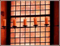 ~ Candles & Window ~ by Sandra Vollmann