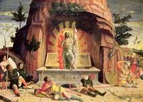 The Resurrection, right hand predella panel from the Altarpiece  by Andrea Mantegna