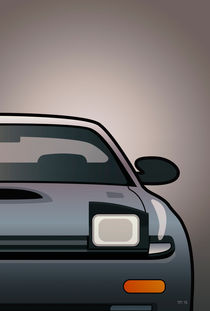 Modern Japanese Icons Series Toyota Celica  GT-Four All-Trac Turbo ST185 (Split) von monkeycrisisonmars