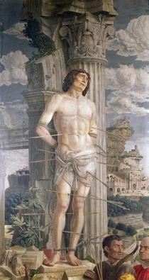 St. Sebastian von Andrea Mantegna