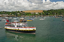 The MV Princessa, Falmouth Harbour von Rod Johnson