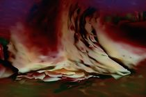 Camp fire spirits by Helmut Licht