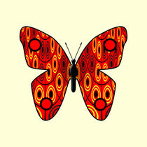 Red butterfly von Gaspar Avila
