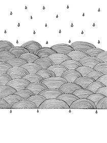 Rain and Sea von cinema4design