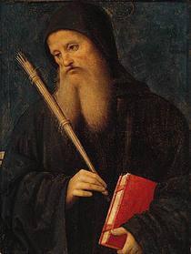 St. Benedict  von Pietro Perugino