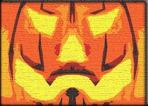 Anonymous Pumpkin by kittymisty