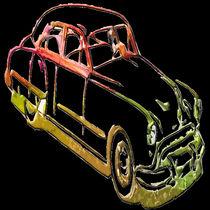 Neon Car by kittymisty