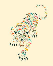 TIGER by Jazzberry  Blue