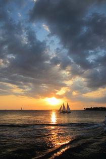 Spektakulärer Sonnenuntergang in Key West, Florida  by Marita Zacharias