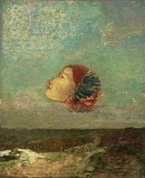 Homage to Goya von Odilon Redon