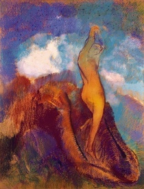 The Birth of Venus von Odilon Redon