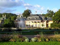 Schloss Pillnitz und Park bei Dresden von Marita Zacharias