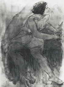 Isadora Duncan  von Auguste Rodin