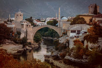An Old bridge in Mostar by Jarek Blaminsky