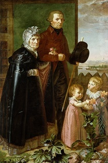 The Artist`s Parents by Philipp Otto Runge