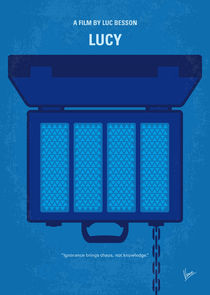 No574 My Lucy minimal movie poster by chungkong