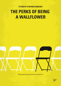 No575 My Perks of Being a Wallflower minimal movie poster von chungkong