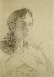 Head and hands of St. John von Philipp Otto Runge