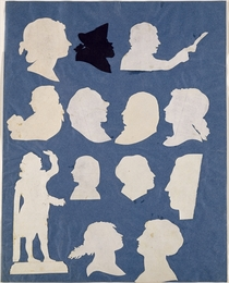 Study of Profiles and an Orator  by Philipp Otto Runge