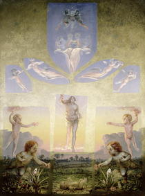 The Morning  von Philipp Otto Runge