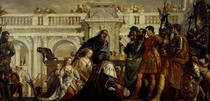 Family of Darius before Alexander the Great  by Paolo Veronese