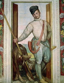 Self Portrait in Hunting Costume by Paolo Veronese