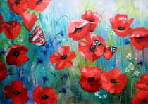 'Morning poppies' by Olha Darchuk