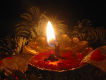 Kerzenlicht von Angelika  Schütgens
