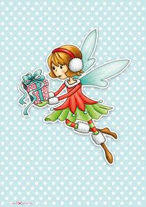 Weihnachtsfee Viola by Gosia Kollek