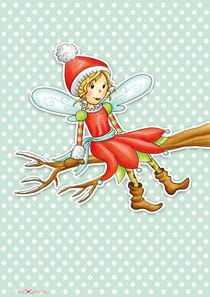 Weihnachtsfee Rosalie by Gosia Kollek