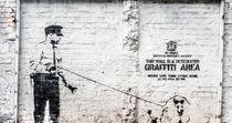 Banksy. Official Graffiti Area. von Ralf Ketterlinus