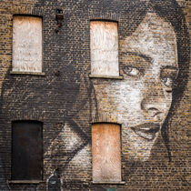 a girl on the wall by Ralf Ketterlinus