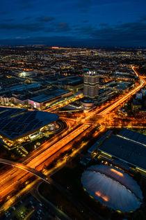 München von oben #3 von Ive Völker