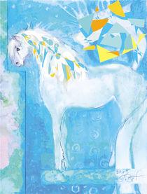 Snowflake, Pferd Malerei  von deern-vun-diek