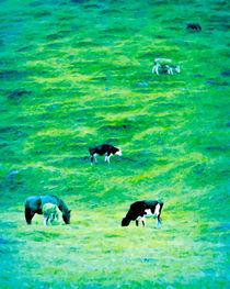Vertical Grassland von GabeZ Art