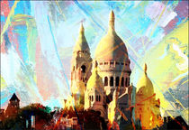 Stadtbilder Paris Sacre Coeur by bilddesign-by-gitta