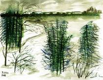 Winterlandschaft by Irina Usova