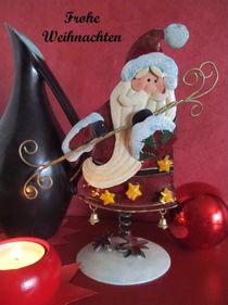 Weihnachtsgruß_01 von Angelika  Schütgens